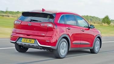 The Niro's impressive economy and low CO2 emissions make it a good company car choice