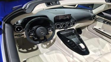 Mercedes-AMG GT R Roadster Geneva Motor Show interior