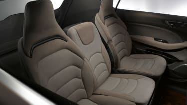 Ford S-MAX 2015 rear seats up