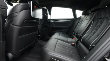 Rear seat passengers are well catered for, with a rear bench that sits lower than in the outgoing 5 Series GT and lots of leg