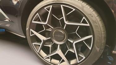 Lagonda All-Terrain SUV concept Geneva wheel