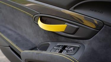 Porsche 718 Cayman coupe door handle