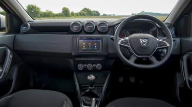 2018 Dacia Duster dash