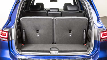 2019 Mercedes GLB - boot with third seating rown