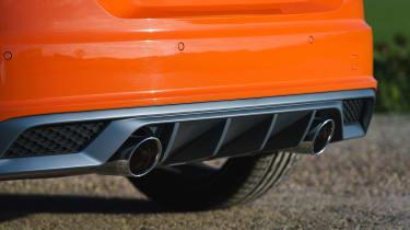 Audi TT Coupe exhaust