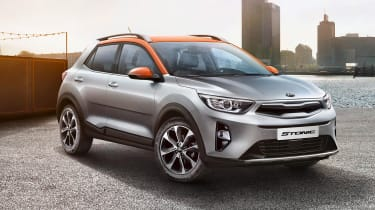 The Kia Stonic is a small Rio-based SUV crossover