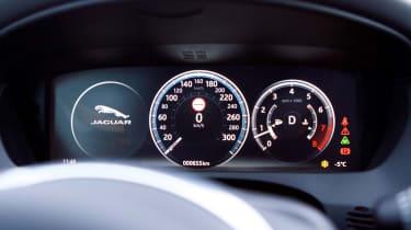 Jaguar F-Pace SUV instruments