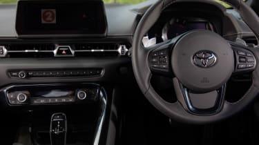 Toyota Supra coupe dashboard