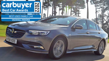Best Used Family Car: Vauxhall Insignia