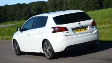 Peugeot 308 rear driving