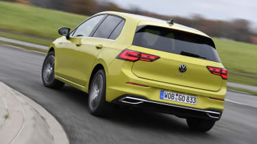 2020 Volkswagen Golf - rear 3/4 dynamic view