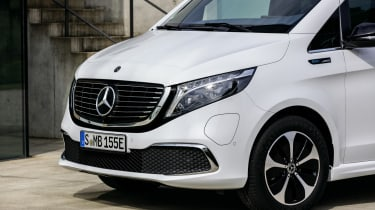 Mercedes EQV - front close up