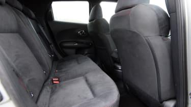 Nissan Juke Nismo RS - rear seats