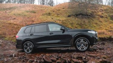 BMW X7 SUV off-road