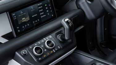 2020 Land Rover Defender 90 - centre console controls