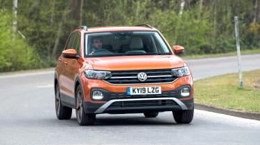 Volkswagen T-Cross SUV front cornering