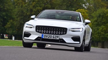 Polestar 1 coupe front 3/4 cornering