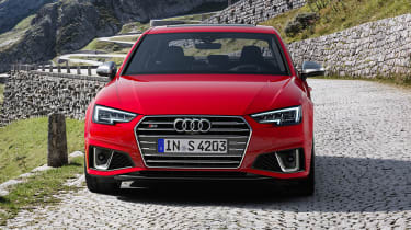 Audi S4 Saloon TDI - Front static straight on