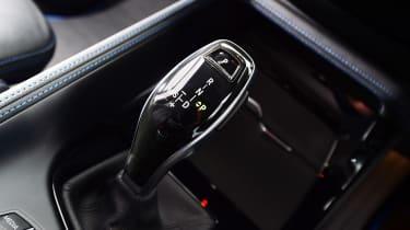 BMW X2 SUV gearlever