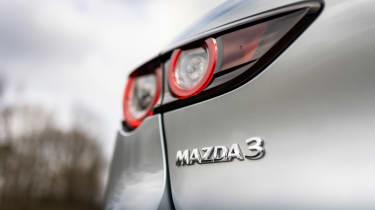 Mazda3 hatchback rear lights
