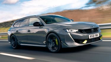 Peugeot 508 SW Sport Engineered driving