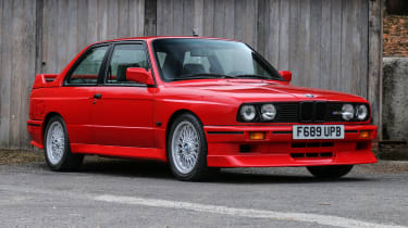 The second-generation (E30) BMW 3 Series is still celebrated by enthusiastic drivers and fans of the marque alike