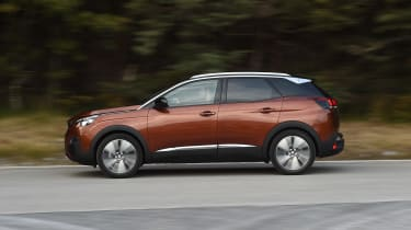 Distinctive looks make the 3008 unmistakable, despite a strong corporate resemblance to other Peugeots