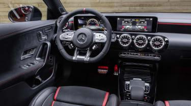 2019 Mercedes-AMG CLA 45 S Shooting Brake - interior angle