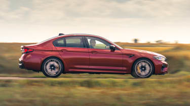 2021 BMW M5 Competition saloon - side view dynamic