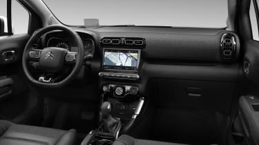 Citroen C3 Aircross facelift interior