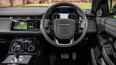 Range Rover Evoque SUV interior