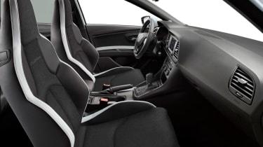 SEAT Leon Cupra 280 Black-Line seats