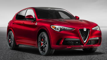 The Alfa Romeo Stelvio SUV is based on the well-received Giulia and power will span from a diesel to a 503bhp V6