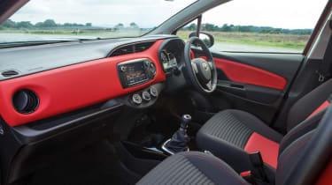 Toyota Yaris interior - wide view