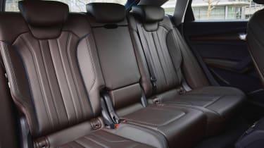 Audi Q5 Sportback SUV rear seats