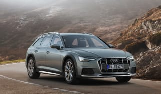 New 2019 Audi A6 Allroad estate - side view static