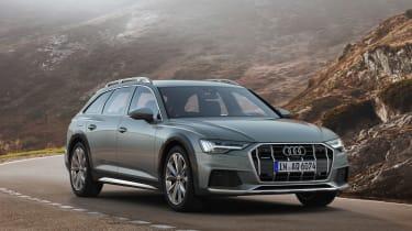 New 2019 Audi A6 Allroad estate - side view static