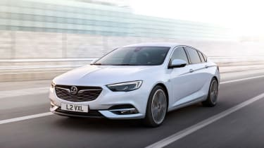 No official word on the Insignia Grand Sport's engines, but expect Vauxhall's latest 'Whisper' diesels to feature