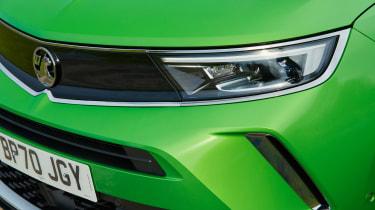 Vauxhall Mokka-e headlight