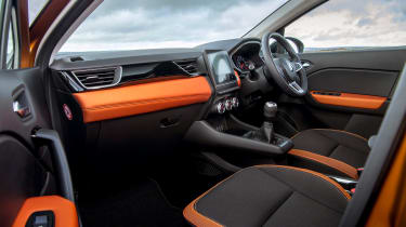 Renault Captur SUV dashboard