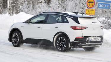 2021 Volkswagen ID.4 SUV - winter testing passing view
