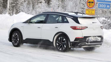 2021 Volkswagen ID.4 SUV - winter testing passing view