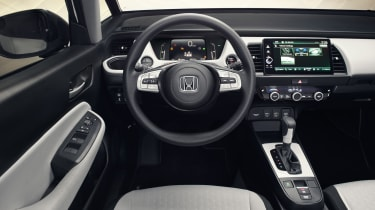 Honda Jazz hybrid interior
