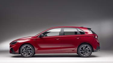 2020 Hyundai i30 N Line side view