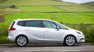 The Zafira is still an eminently practical choice for family motoring