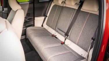 Mazda MX-30 SUV rear seats