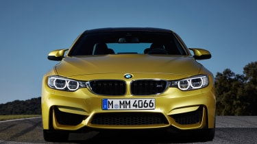 BMW M4 coupe 2014 front static