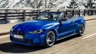 2021 BMW M4 Competition Convertible M xDrive - front 3/4