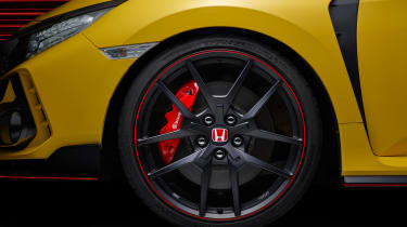 Honda Civic Type R Limited Edition alloy wheel