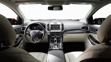 The optional panoramic sunroof will make the interior feel lighter and airier.
